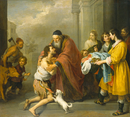 The Return of the Prodigal Son Bartolomé Esteban Murillo