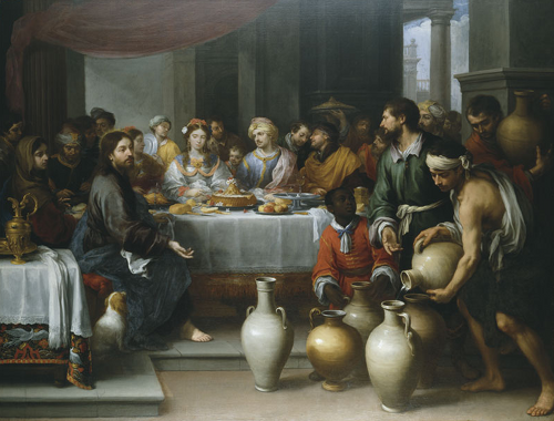 The Marriage Feast at Cana Bartolome Esteban Murillo