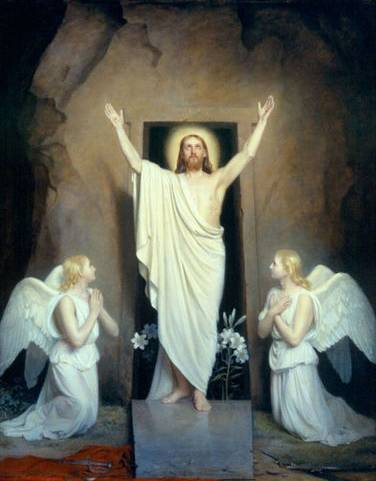 Resurrection by Carl Bloch
