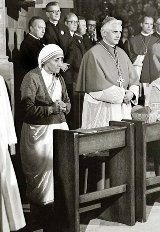 with Mother Teresa